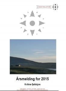 I årsmeldinga for Kvikne Fjellstyre for 2015 finner du mye forskjellig informasjon.